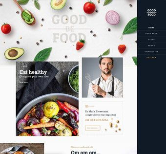 GoodFood theme