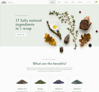 Herbal theme