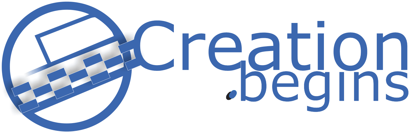 Creation.begins logo